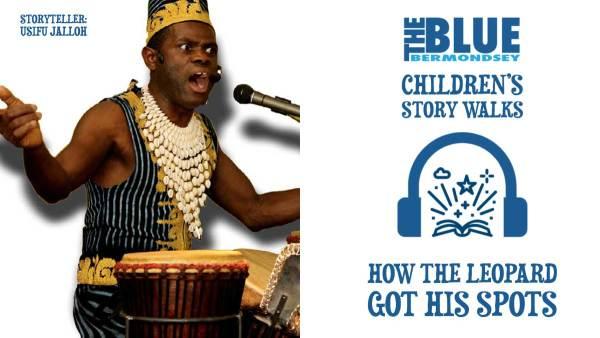 Blue Bermondsey Children's Story Walks-How The Leopard Got His Spots