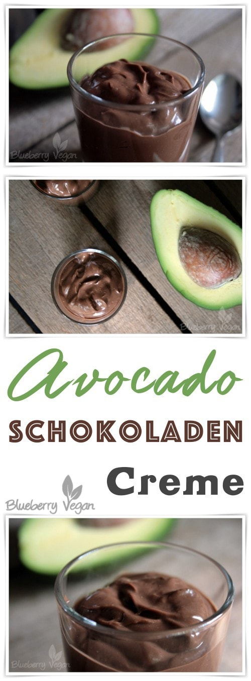 schokoladencreme mit avocado und joghurt blueberry vegan. Black Bedroom Furniture Sets. Home Design Ideas