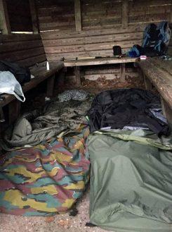 Unser Schlafplatz