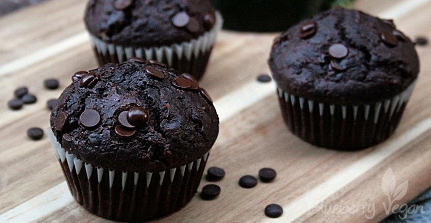Zucchini-Schoko-Muffins