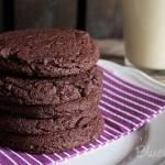 Einfach schnelle Schokoladenkekse