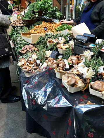 Mushrooms at Borough Market