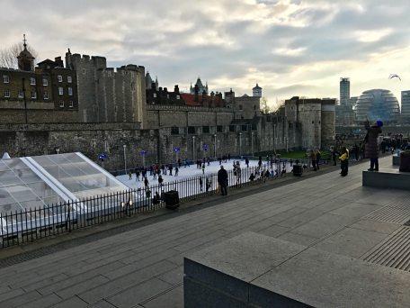 Iceskating in London