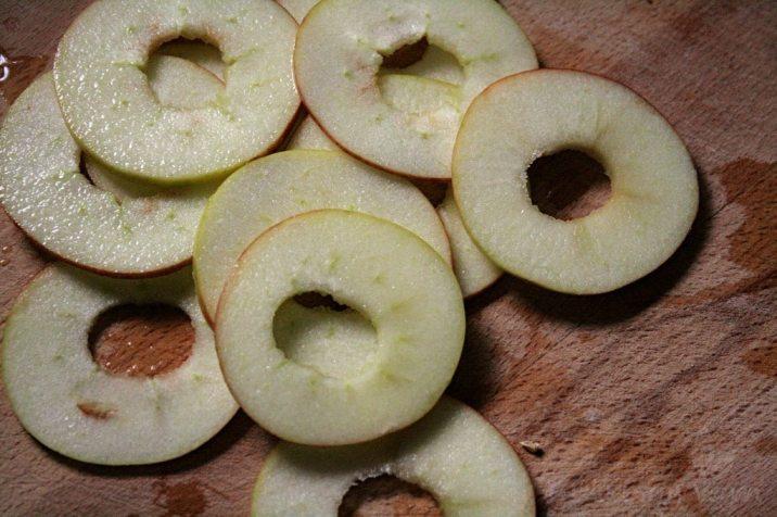 Apfelscheiben