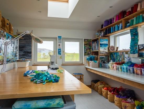Sunbeam artist's studio