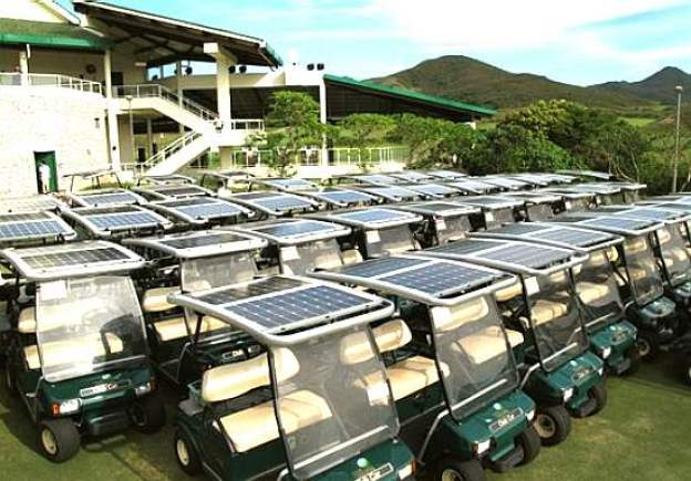 Financial Benefits  Solar Panel Golf Cart