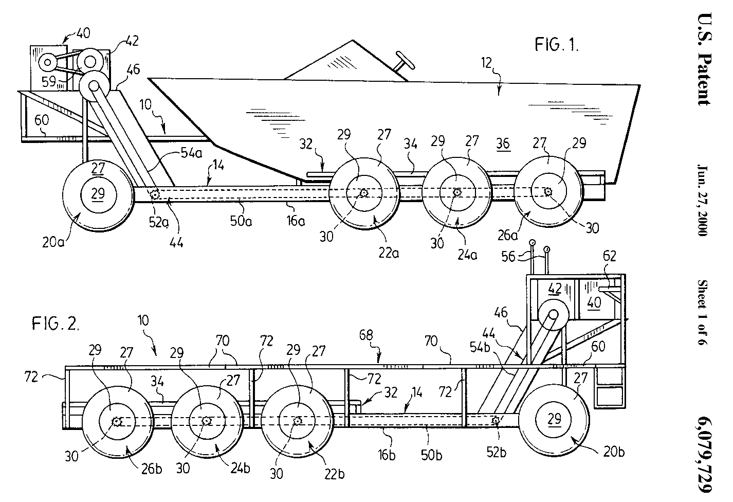 hight resolution of patents us beach launching and recovery vehicle