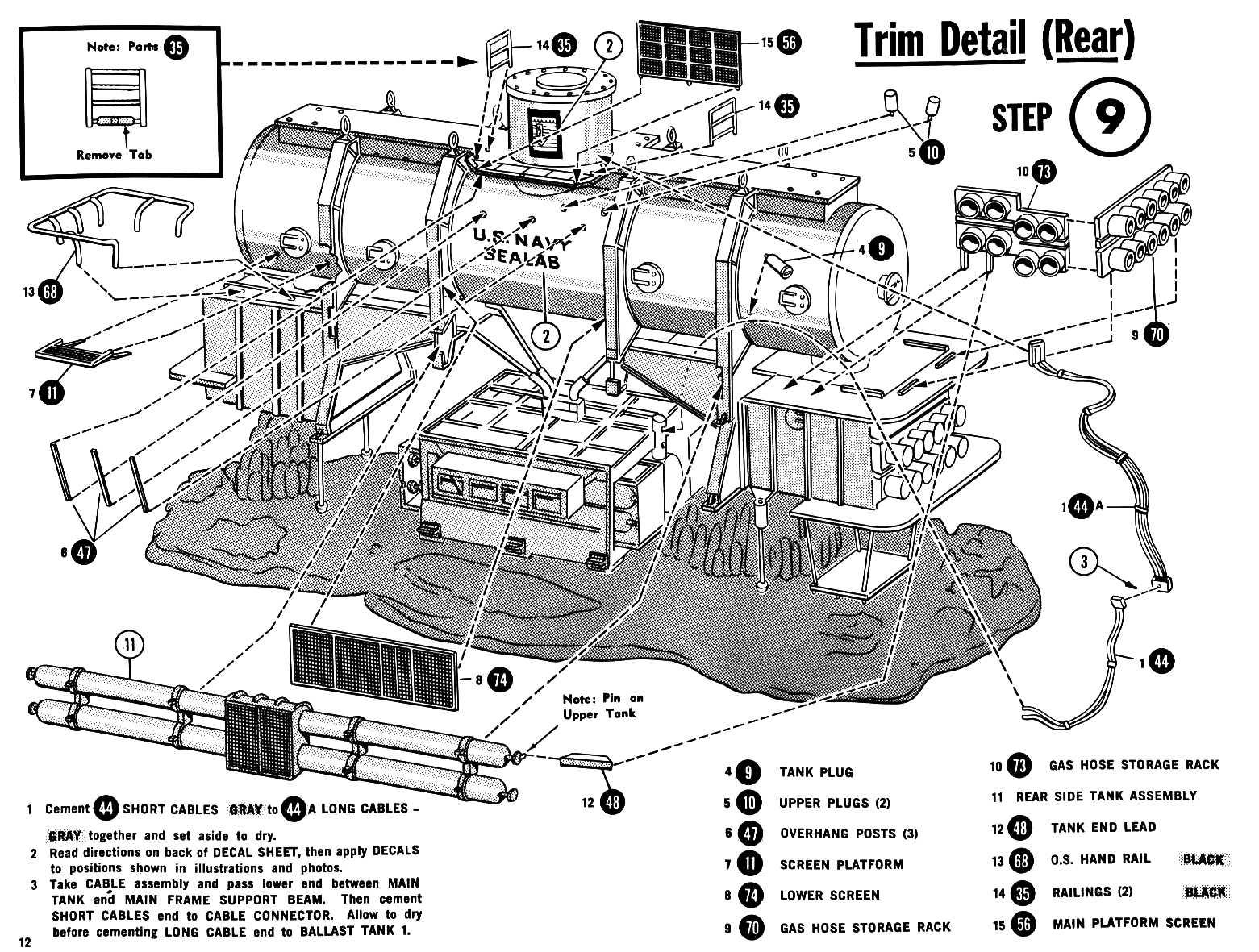 Sealab I Iii And Iii Us Navy Underwater Research Laboratoy