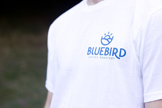 BlueBird Icon and Logo T-Shirt