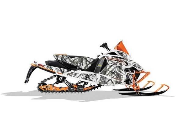 2017 ARCTIC CAT ZR 6000 LIMITED ES 129 ORANGE