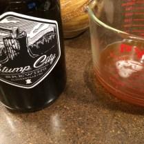 Stump City Brewery growler