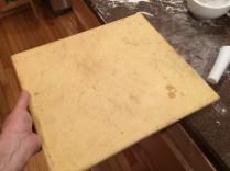 Ye olde baking stone
