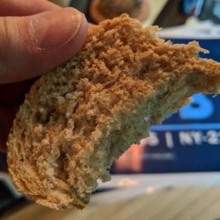Look at that crumb!