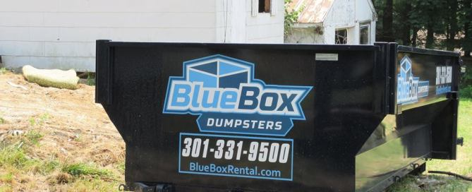 New dumpster and new logo