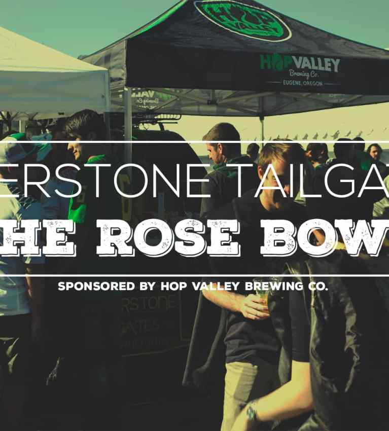2015 Rosebowl with Cornerstone Tailgates and Hop Valley Brewing