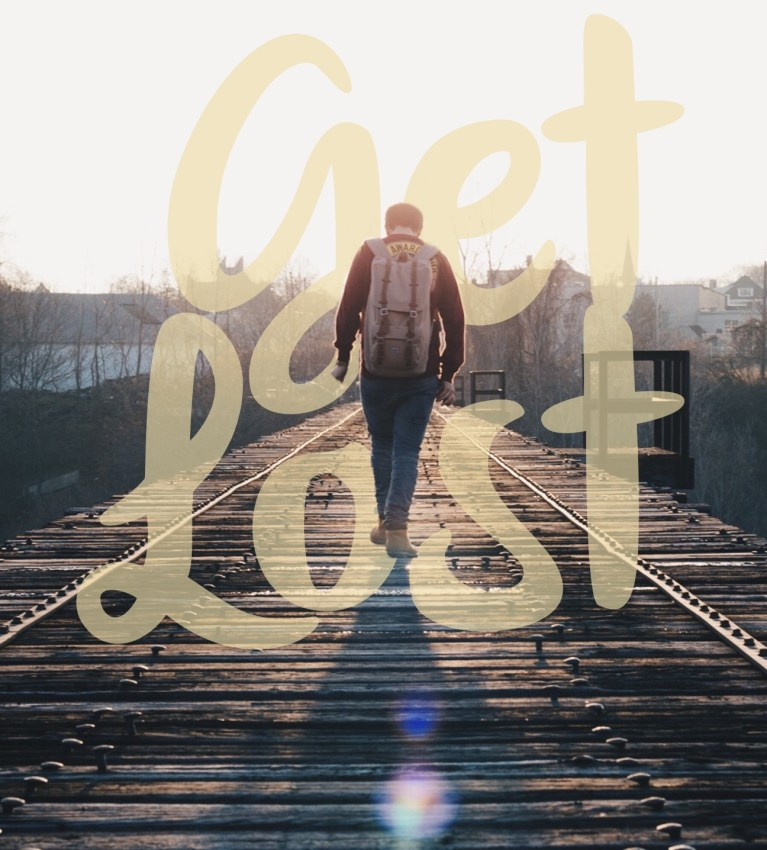 Get Lost – Free iPhone Wallpaper
