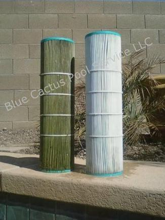 How often you should clean your swimming pool filter depends on the filter and condition of the water, but a general guideline for. Pool Filter Cleaning Repair New Cartridge Filters De Filters Sand Filters Phoenix Scottsdale Anthem Peoria Glendale Surprise Arizona Pool Repair And Cleaning Service