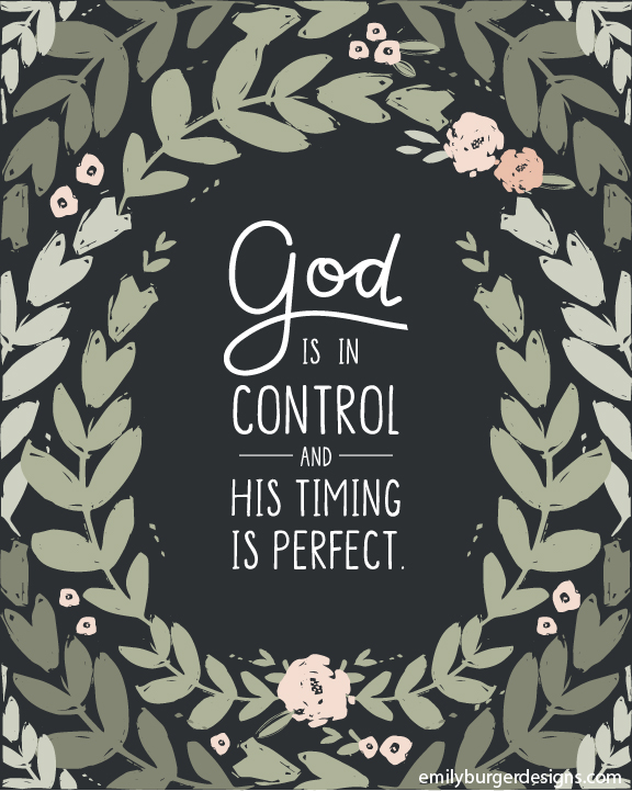 Image result for god is in control