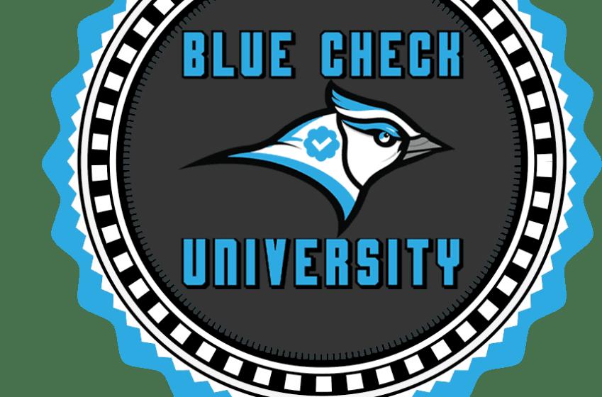 Blue Check University 'Campus Tour': April 2020