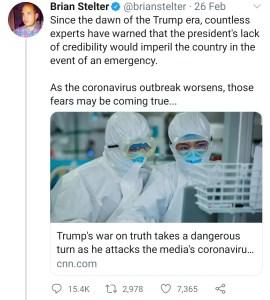Stelter War on Truth/Media