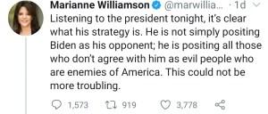 Marianne Williamson Ratio