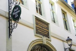 """Blüchermuseum Kaub - """"Zur Stadt Mannheim"""""""