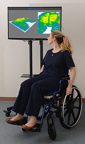Wheelchair Seating Pressure Mapping System  Blue Chip