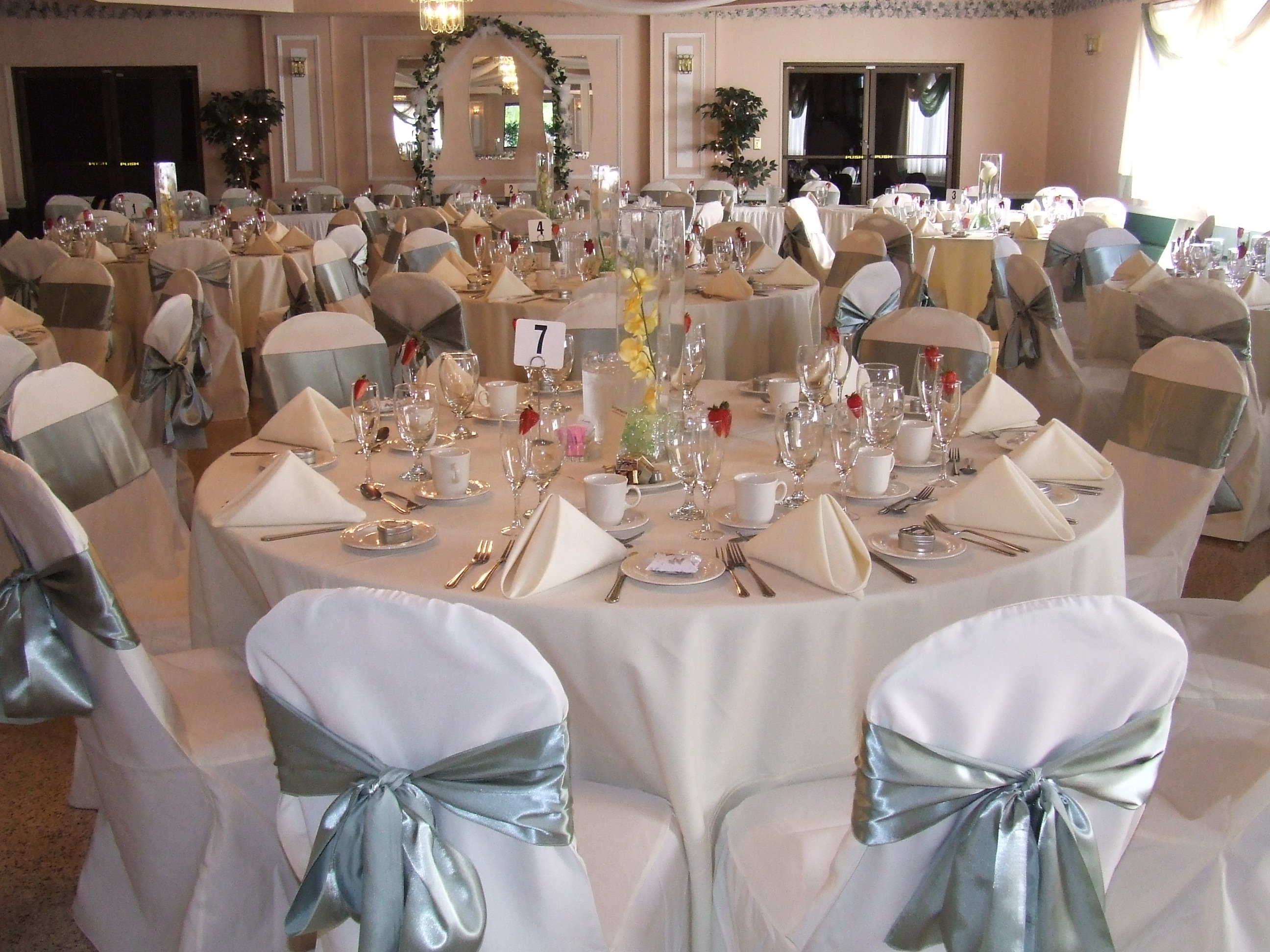 chair cover rental paterson nj small massage blue collar catering pictures
