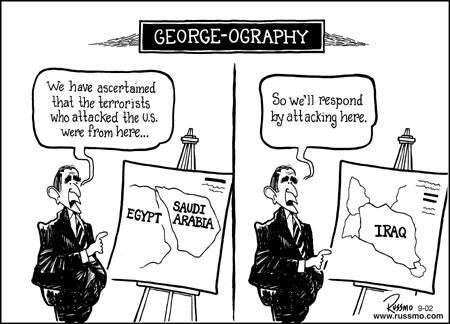 USA: Bush and the Iraq war