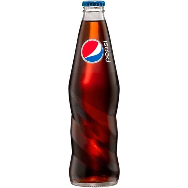 Pepsi Glass Bottles Real Sugar 12 Oz. Blue Dog Beverages