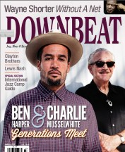 Downbeat Cover
