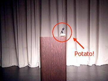 Every Speaker Needs A Large Baking Potato!
