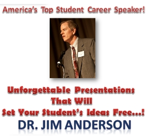 Dr. Jim Anderson Delivers University Speechs On Choosing Careers, Making Presentations, and Ethics