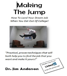 "The book ""Making The Jump: How To Get Your First Job After College"" is now available"