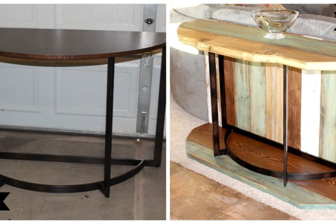 make a rustic sofa table coaster company transitional bed rebuilding recycling and reclaiming blue eye diy