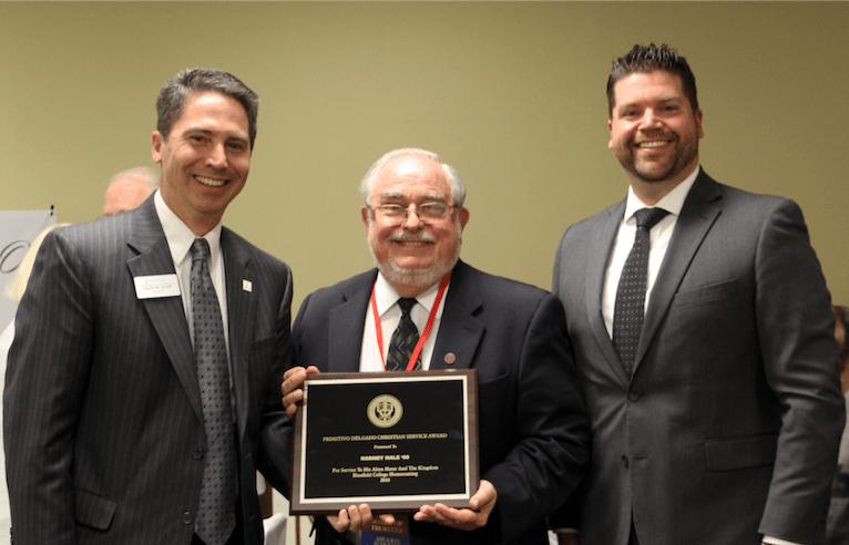 Rod Hale '60 Christian Service Award Winner