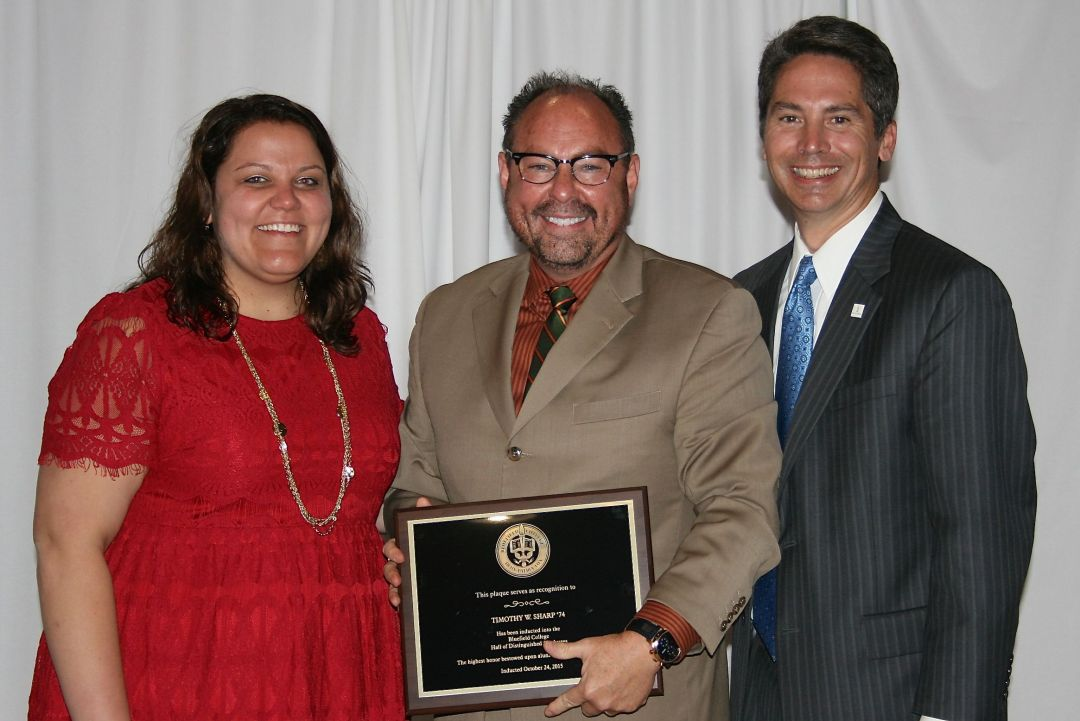 Tim Sharp '74 Hall of Distinguished Graduates Award Winner