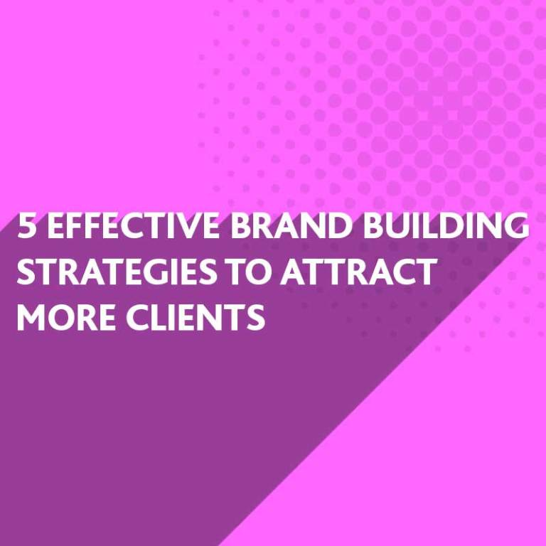 Effective Brand Building Tips from BlueFlameDesign