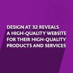 New website design for DESIGN at 32