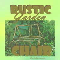 Rustic Garden Chair; a romantic & intriguing seat for your ...