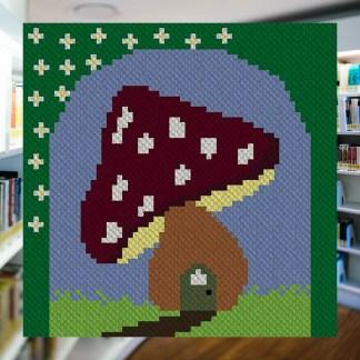 Fairies Forest C2C Corner to Corner Crochet Pattern