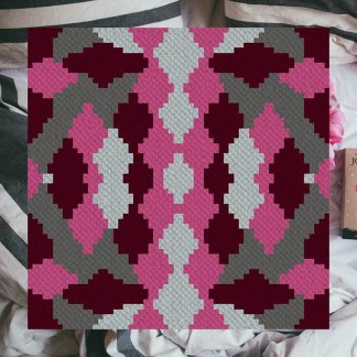 Rosies Riches C2C Croner to Corner Crochet Pattern