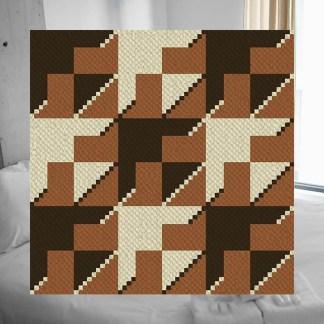 Flight C2C Corner to Corner Crochet Pattern