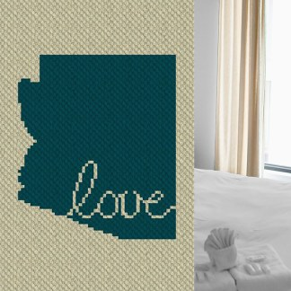 Arizona Love C2C Corner to Corner Crochet Pattern
