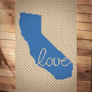 California Love C2C Crochet Pattern