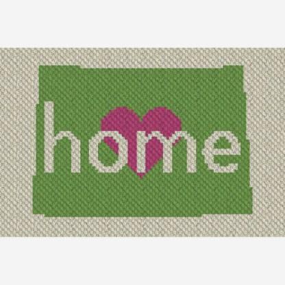 Colorado Home C2C Corner to Corner Crochet Pattern