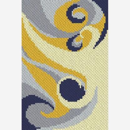 Winds of Change C2C Crochet Pattern