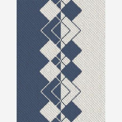 Meet Me in The Middle C2C Corner to Corner Crochet Pattern