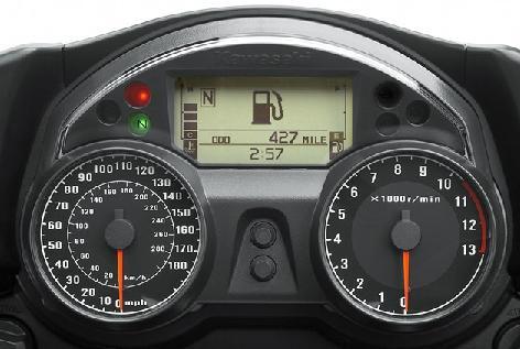 Kawasaki ZX14 Gauge Backlighting  Bluegaugescom