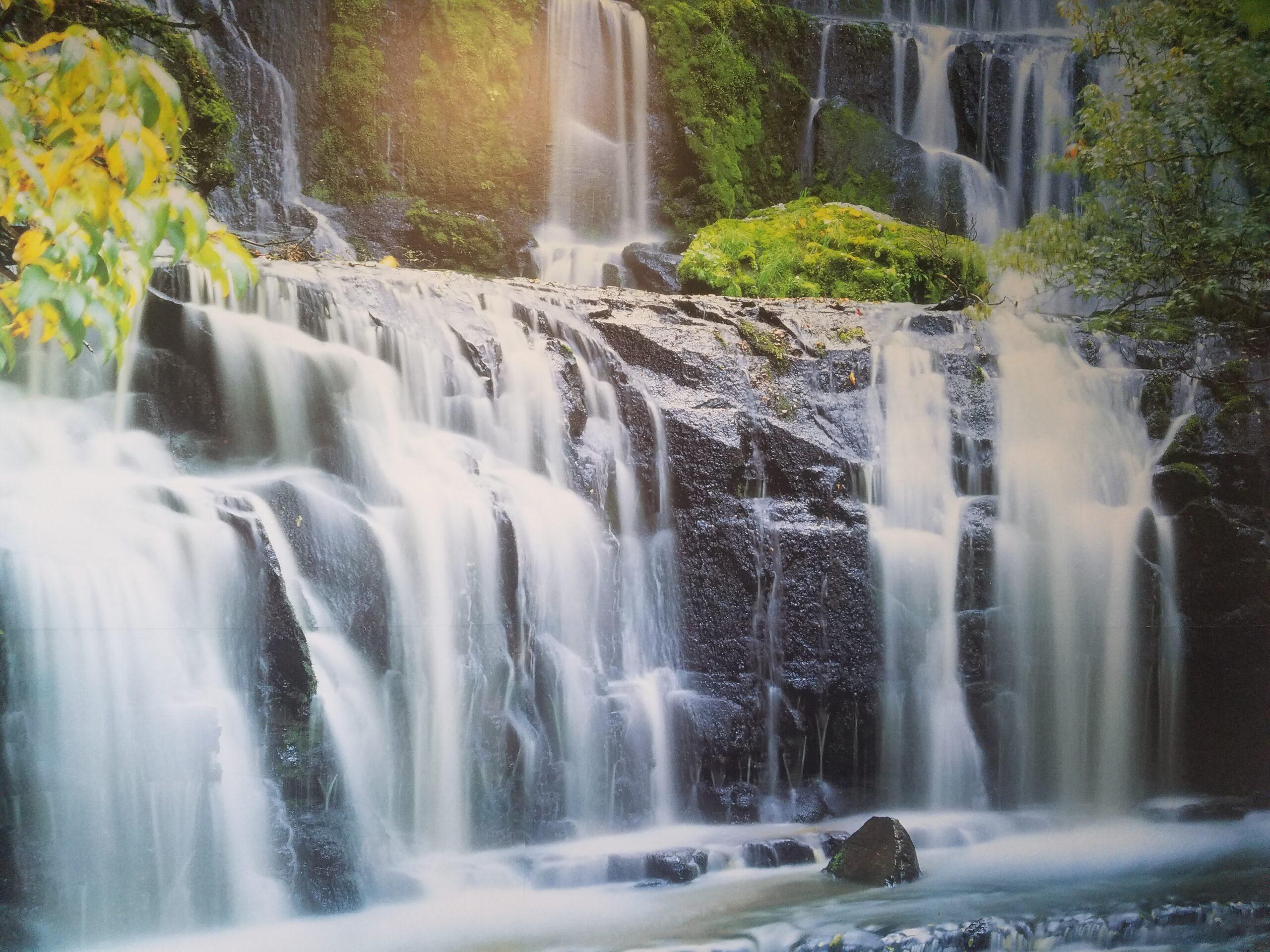 Waterfall-water-treatment